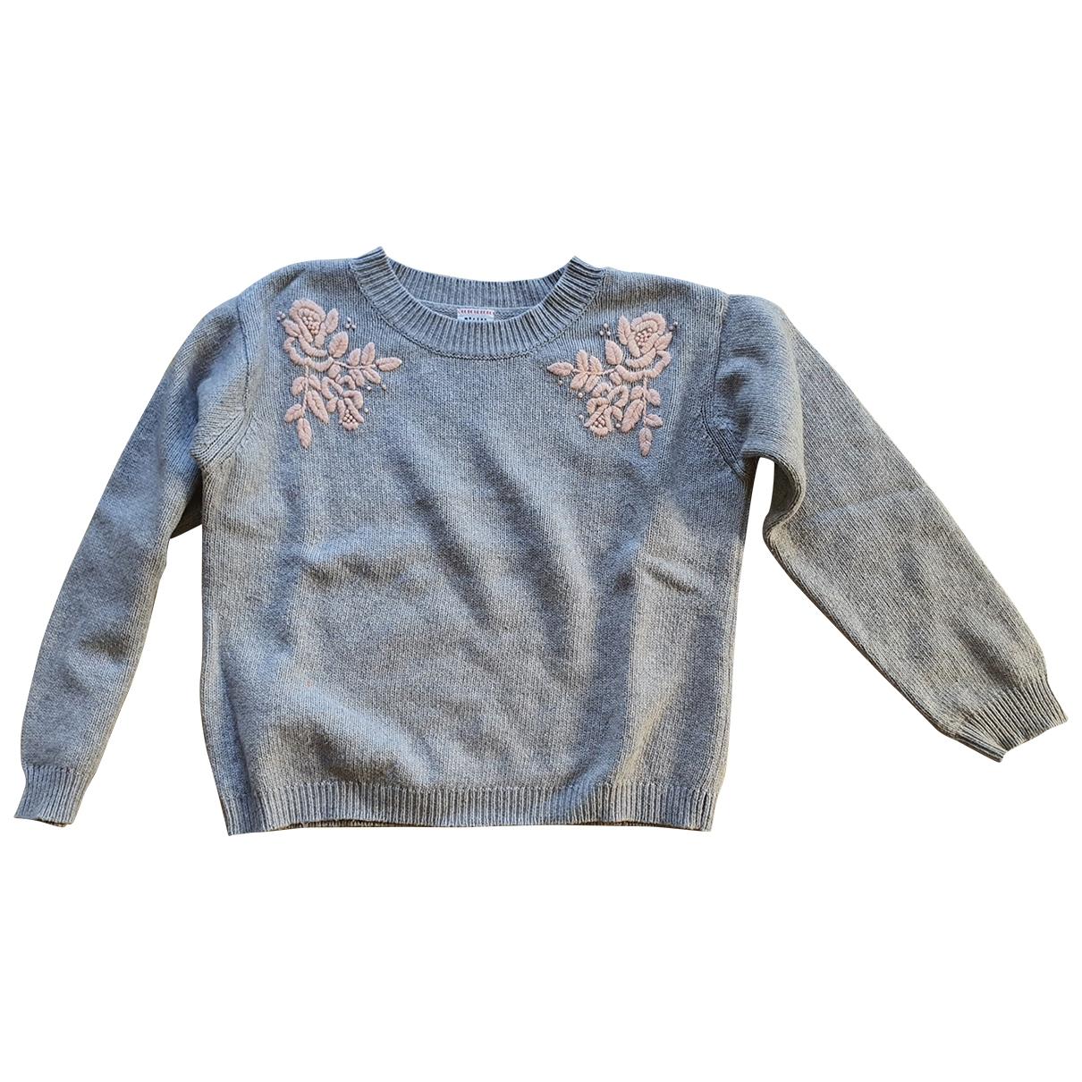Morley - Pull   pour enfant - gris