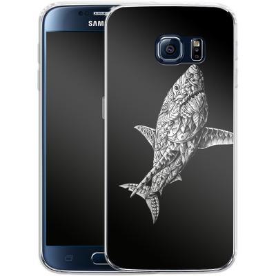 Samsung Galaxy S6 Silikon Handyhuelle - Great White von BIOWORKZ