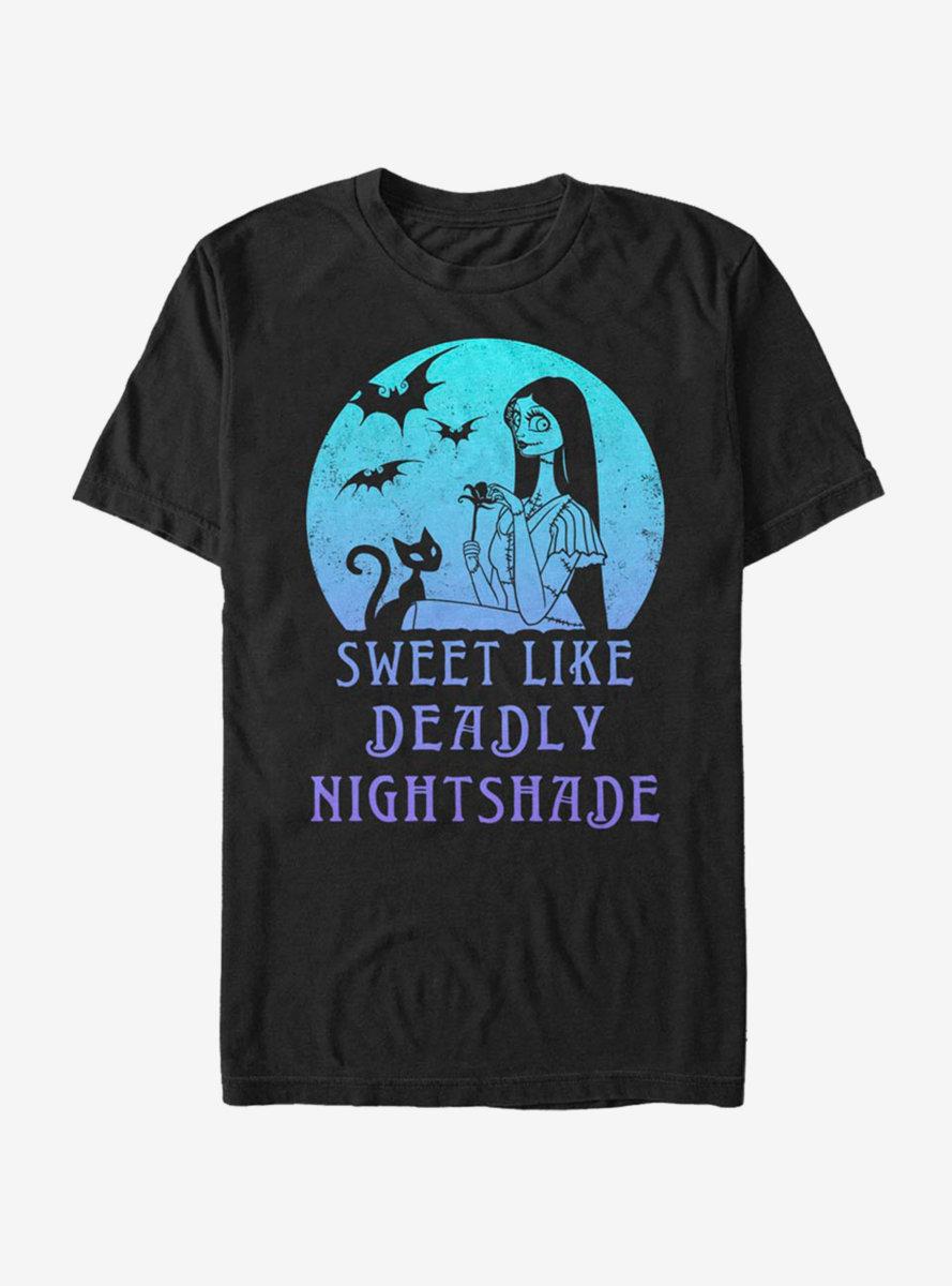 Disney The Nightmare Before Christmas Sally Moon T-Shirt