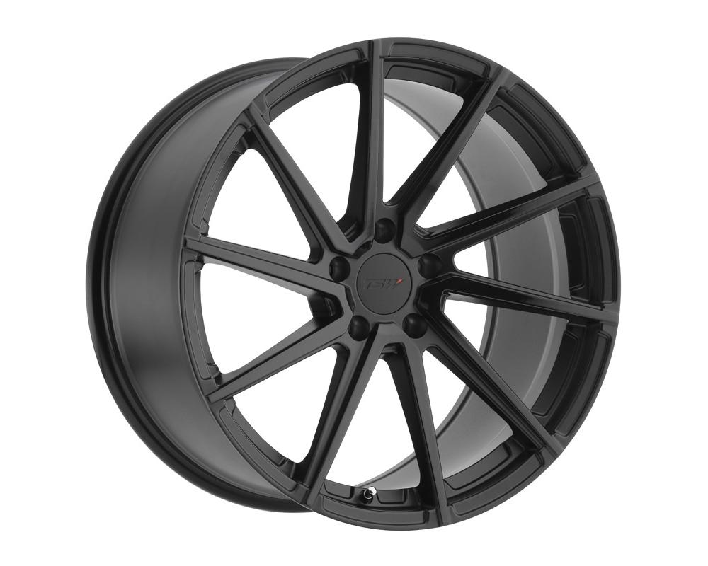 TSW Watkins Wheel 19x9.5 5x114.3 39mm Double Black - Matte Black w/ Gloss Black Face