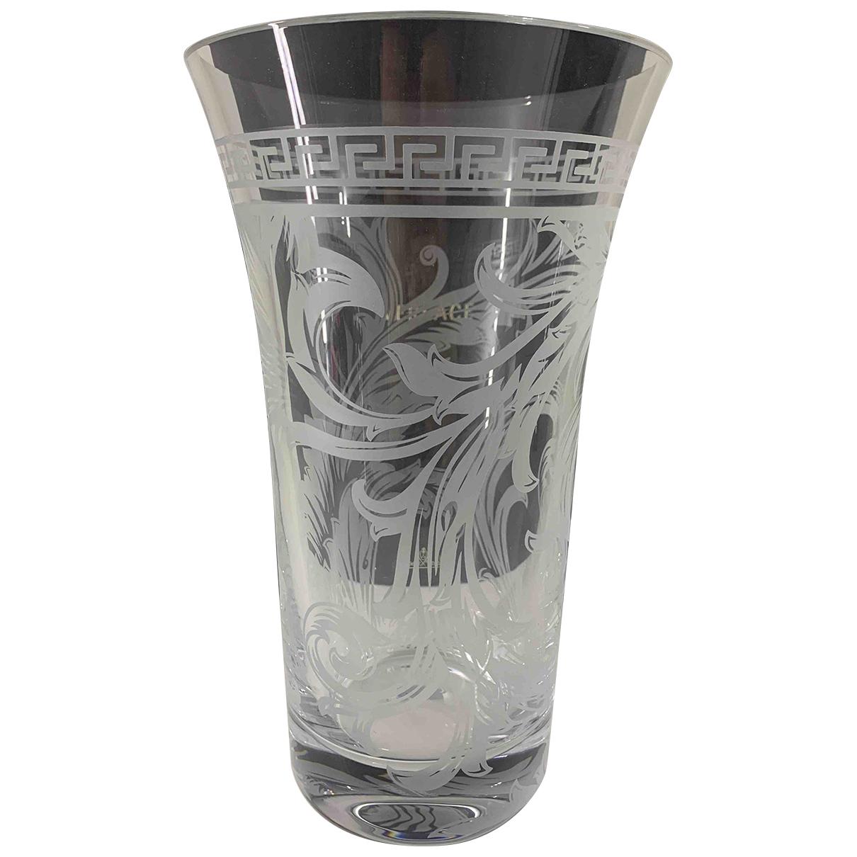 Versace - Objets & Deco   pour lifestyle en verre - blanc