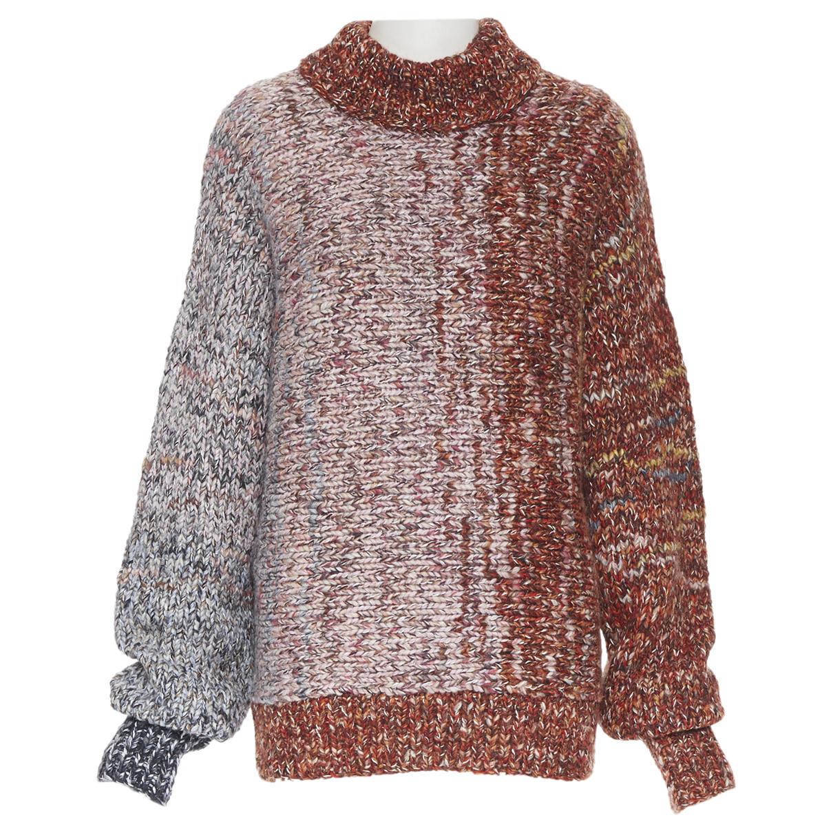 Victoria Beckham - Pull   pour femme en laine - rouge