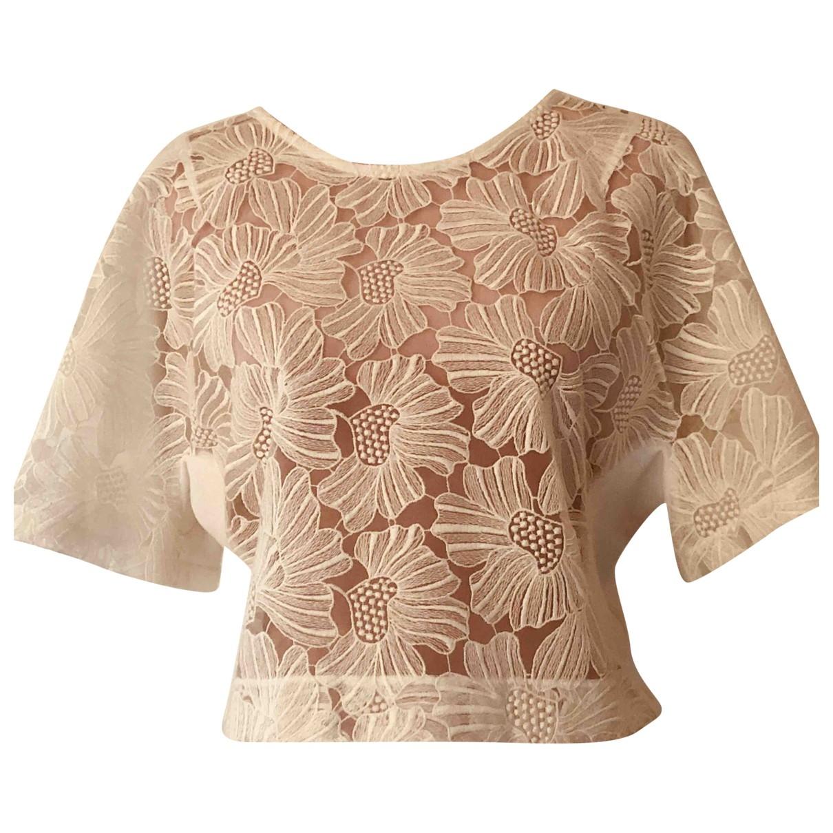 Giamba - Top   pour femme en coton - blanc