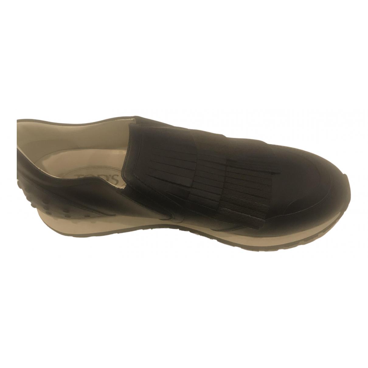 Tods \N Sneakers in  Marine Leder