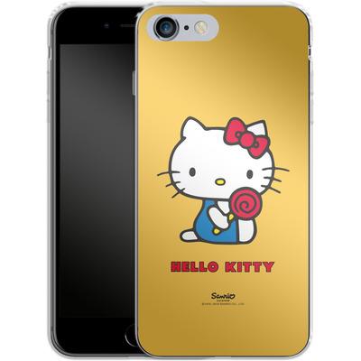 Apple iPhone 6 Plus Silikon Handyhuelle - Hello Kitty Lollipop von Hello Kitty