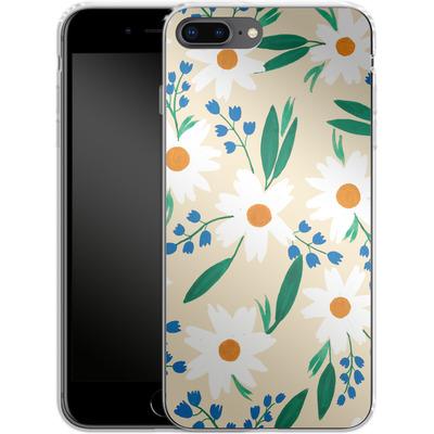 Apple iPhone 7 Plus Silikon Handyhuelle - Daisy Chain von Iisa Monttinen