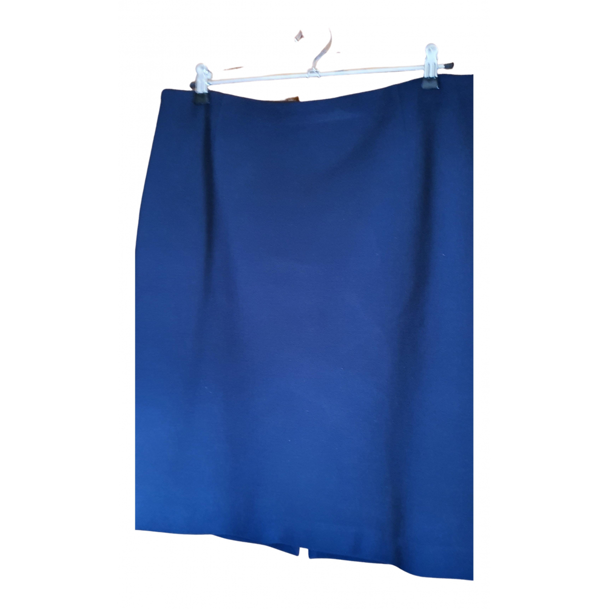 Non Signé / Unsigned N Navy skirt for Women 50-52 IT