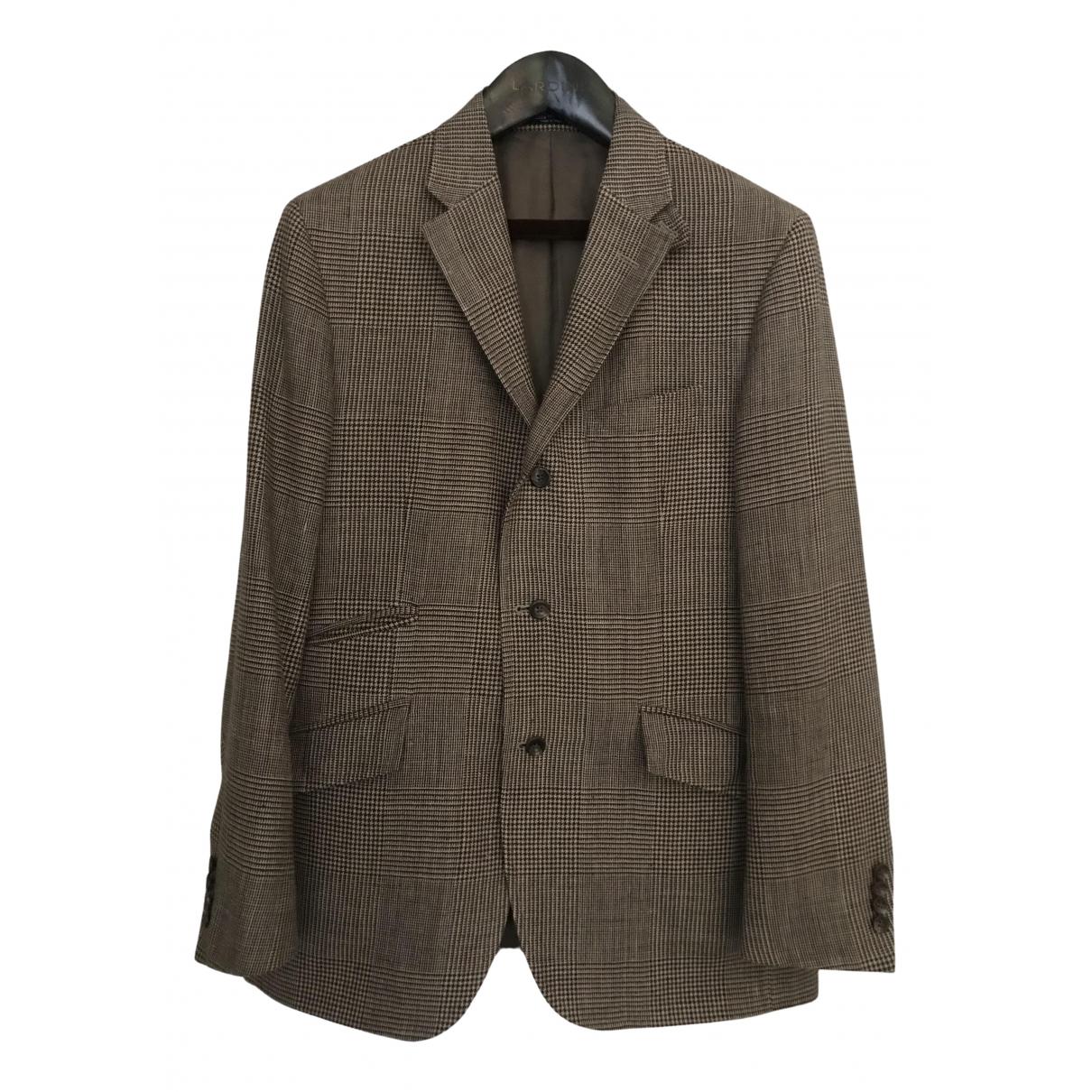 Polo Ralph Lauren \N Jacke in  Beige Wolle