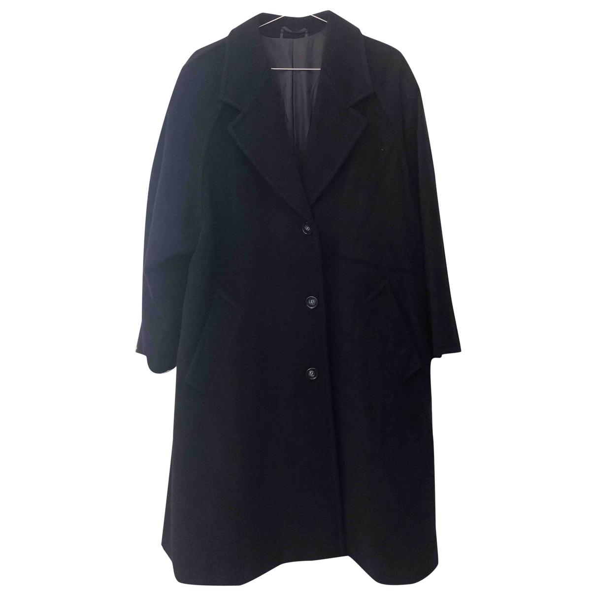 Max Mara - Manteau   pour femme en laine - bleu