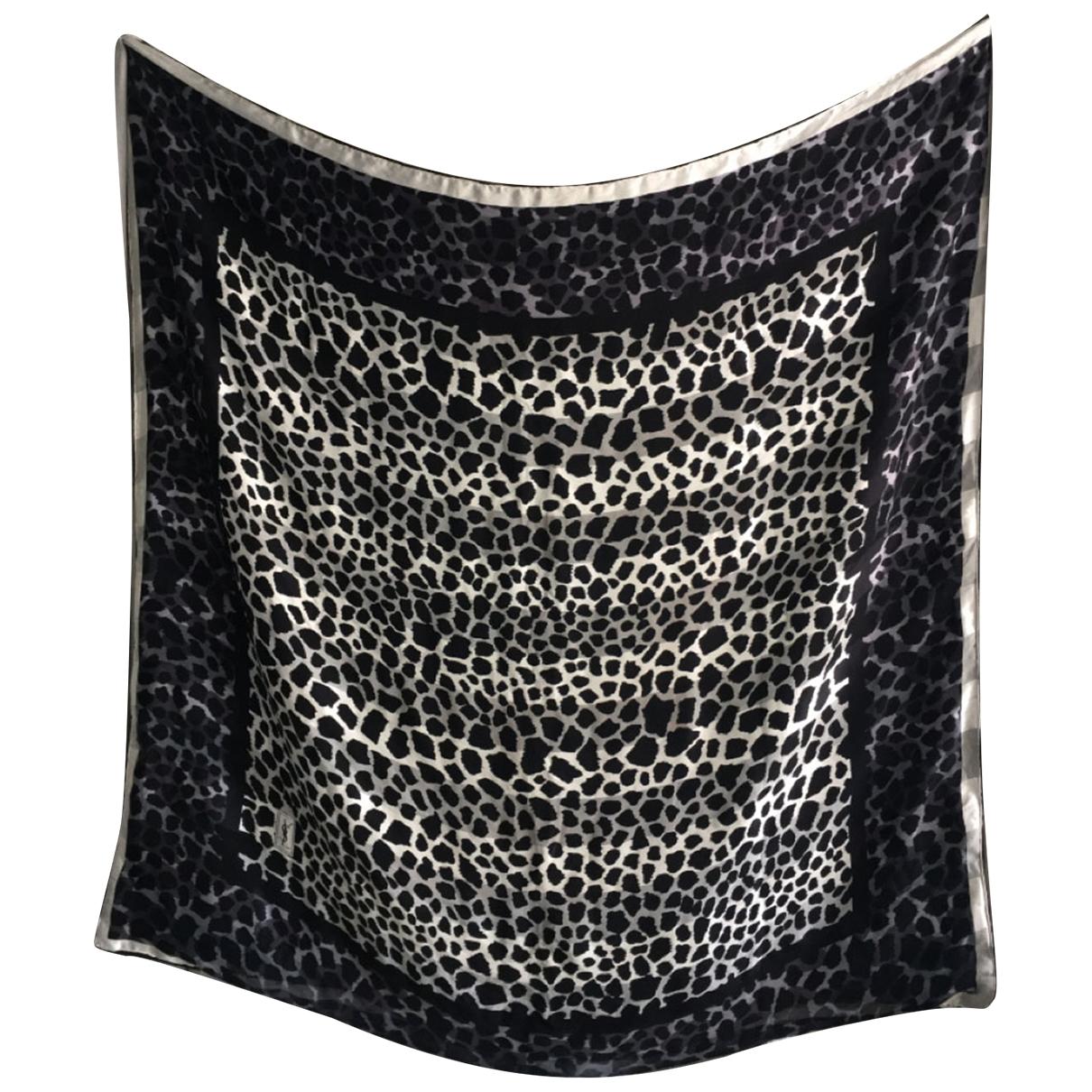 Yves Saint Laurent - Linge de maison   pour lifestyle en soie - noir