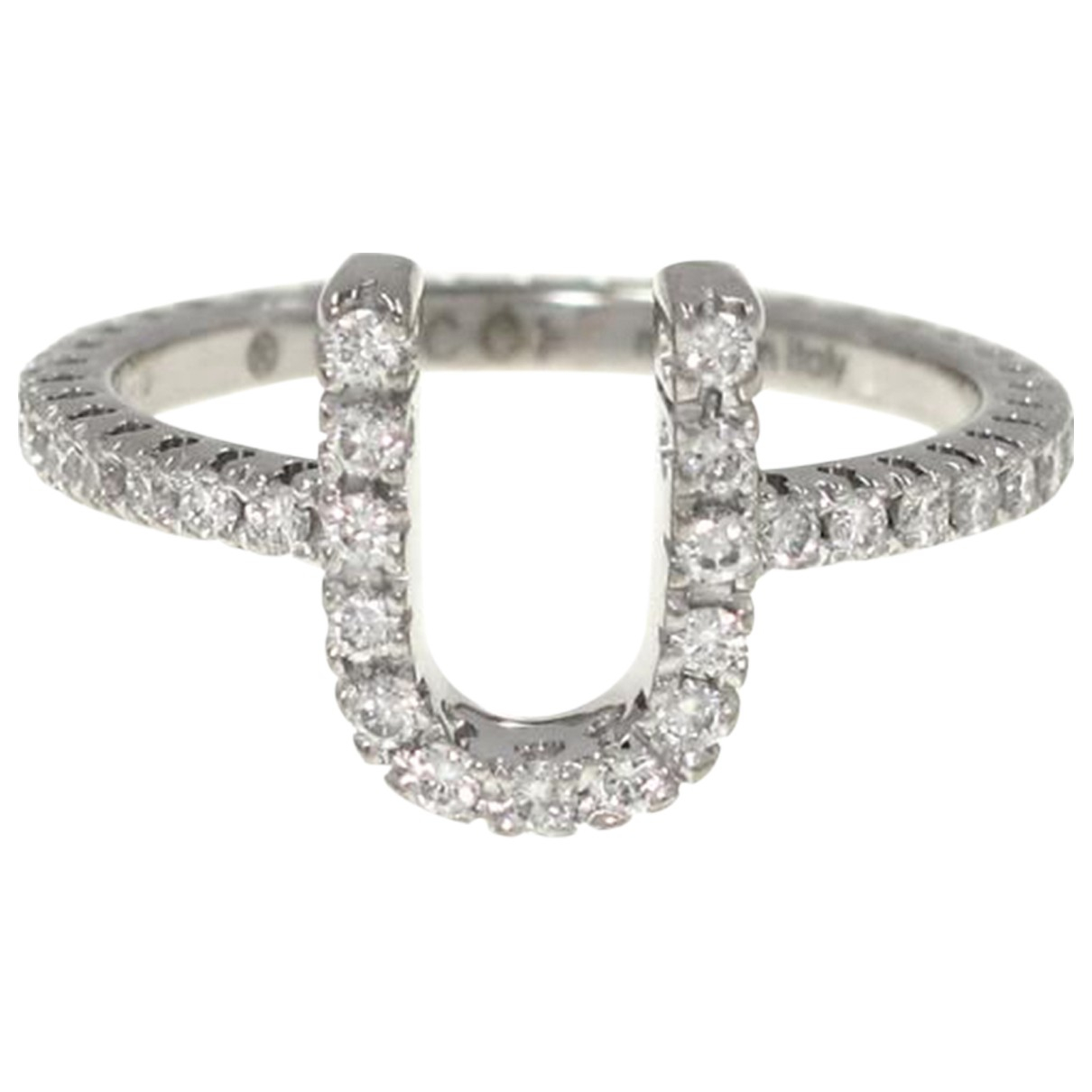 Gucci N White gold ring for Women 4 ¾ US