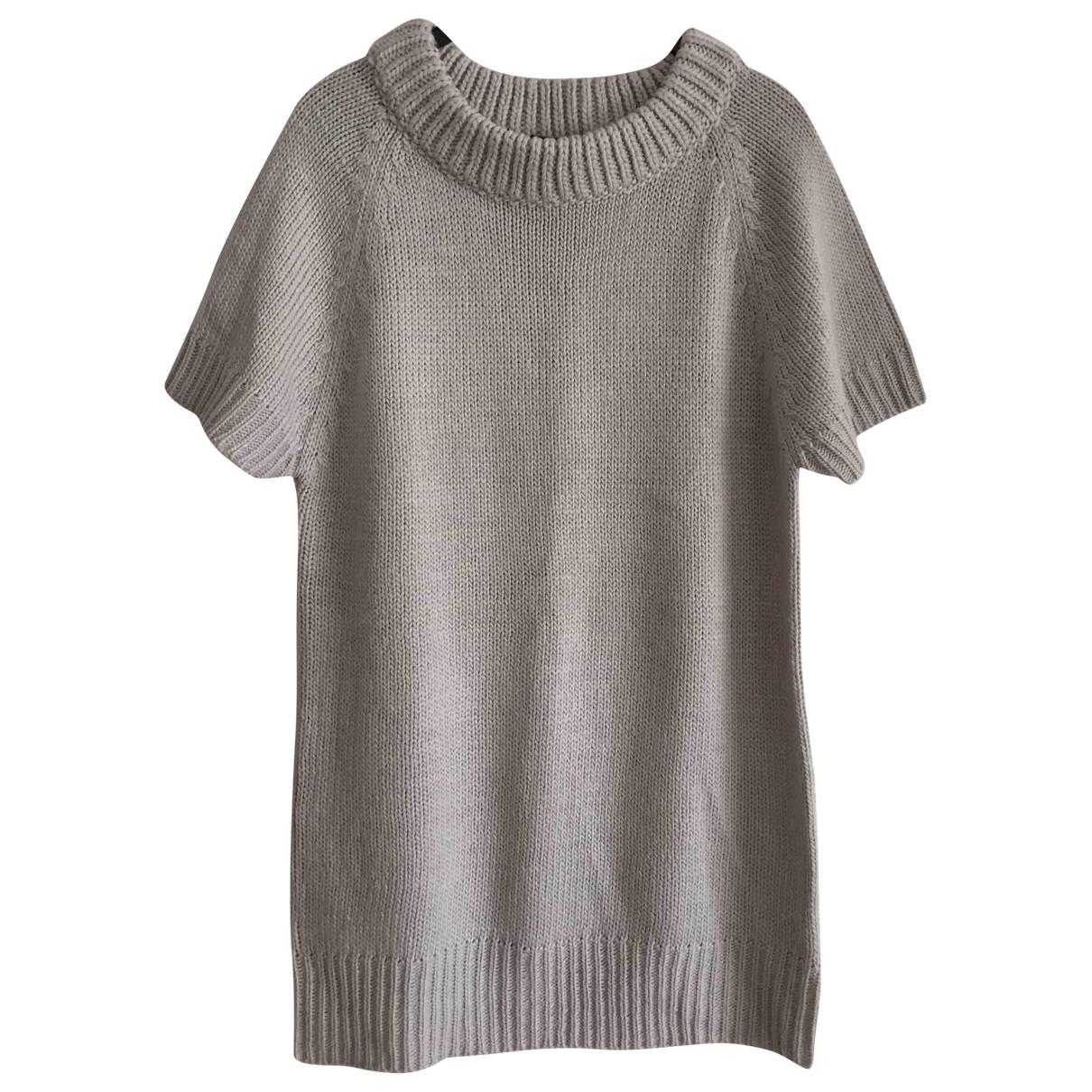 Zara - Robe   pour femme en laine - gris