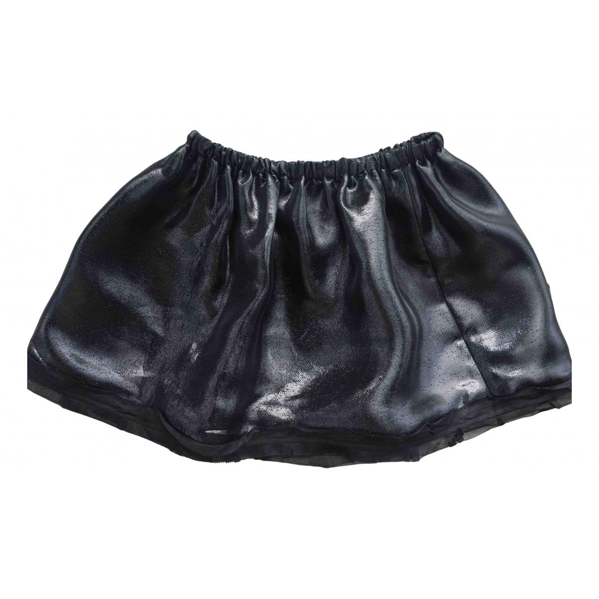 Miu Miu N Black Silk skirt for Women 42 IT
