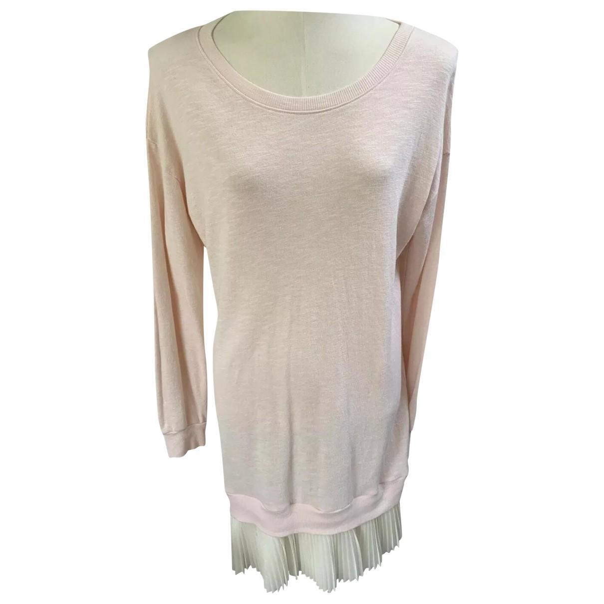 Clu - Robe   pour femme en coton - rose