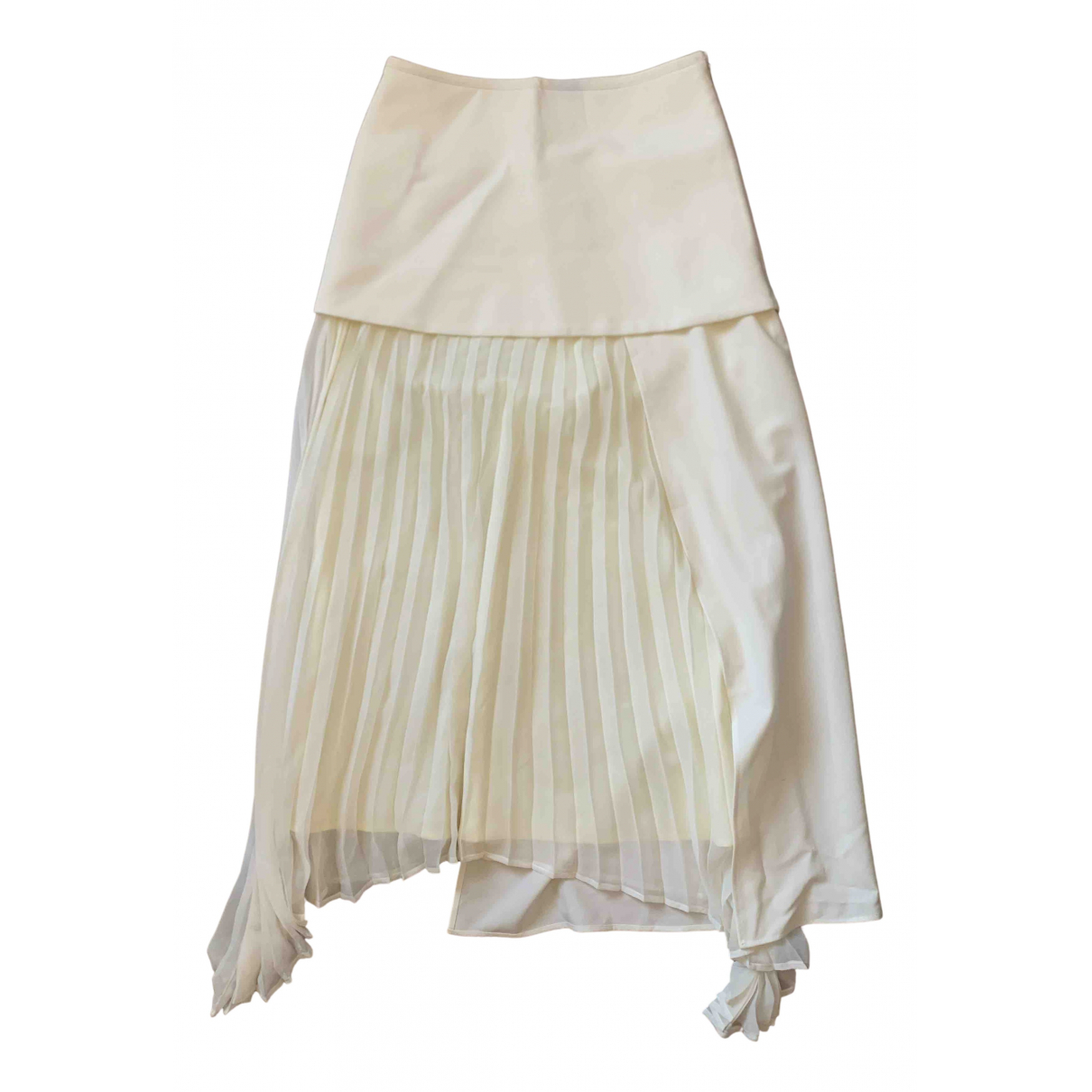 Camilla And Marc N White Silk skirt for Women 8 UK