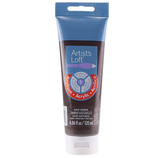 Acrylic Paint By Artist's Loft™, 4 oz in Raw Umber   Michaels®