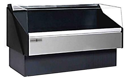 KFMOF100R Open Front Deli Case with Tempered Front Glass  4845 BTU  Designed for Deli Products Fresh and Packaged Meat  in