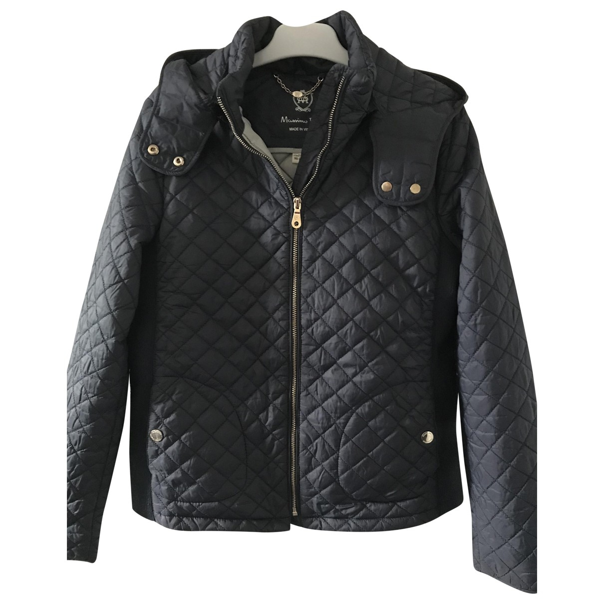 Massimo Dutti \N Navy jacket & coat for Kids 12 years - XS FR