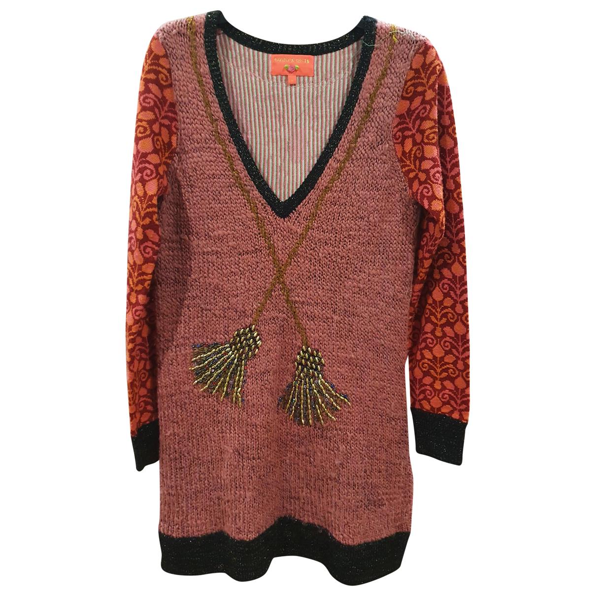 Manoush \N Kleid in  Rosa Wolle