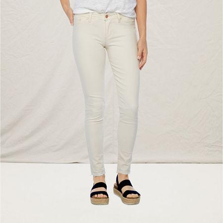 a.n.a Womens Skinny Jean, 20 , White