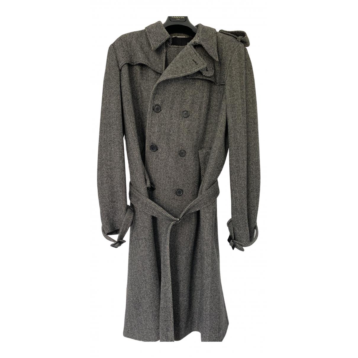 Dior Homme \N Grey Wool coat  for Men 56 FR