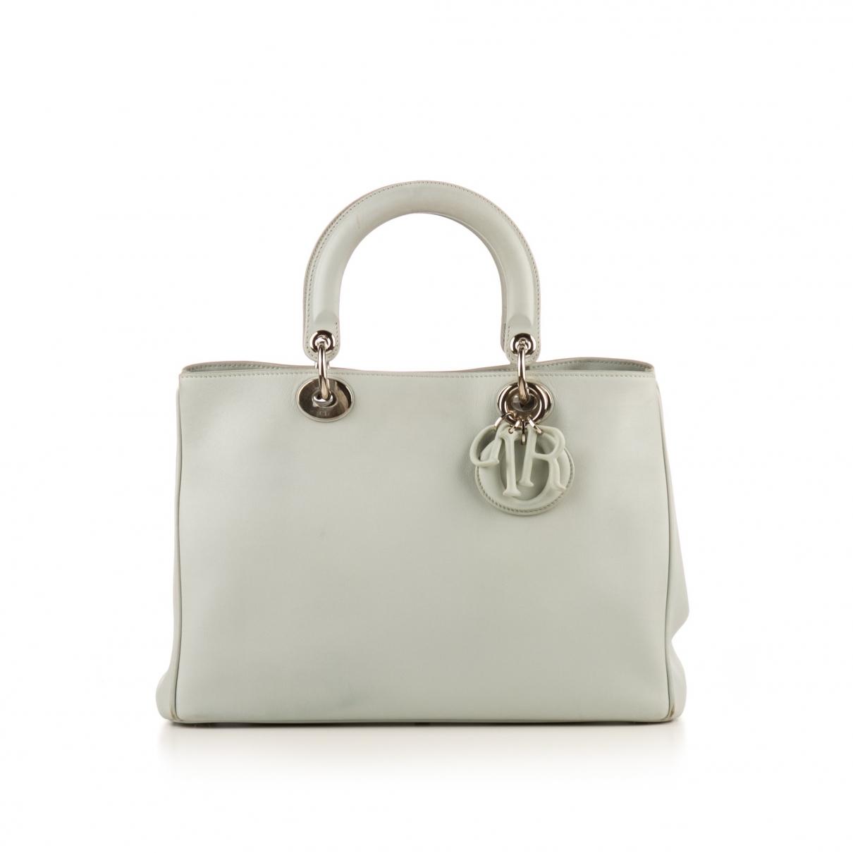 Dior Diorissimo White Leather handbag for Women \N