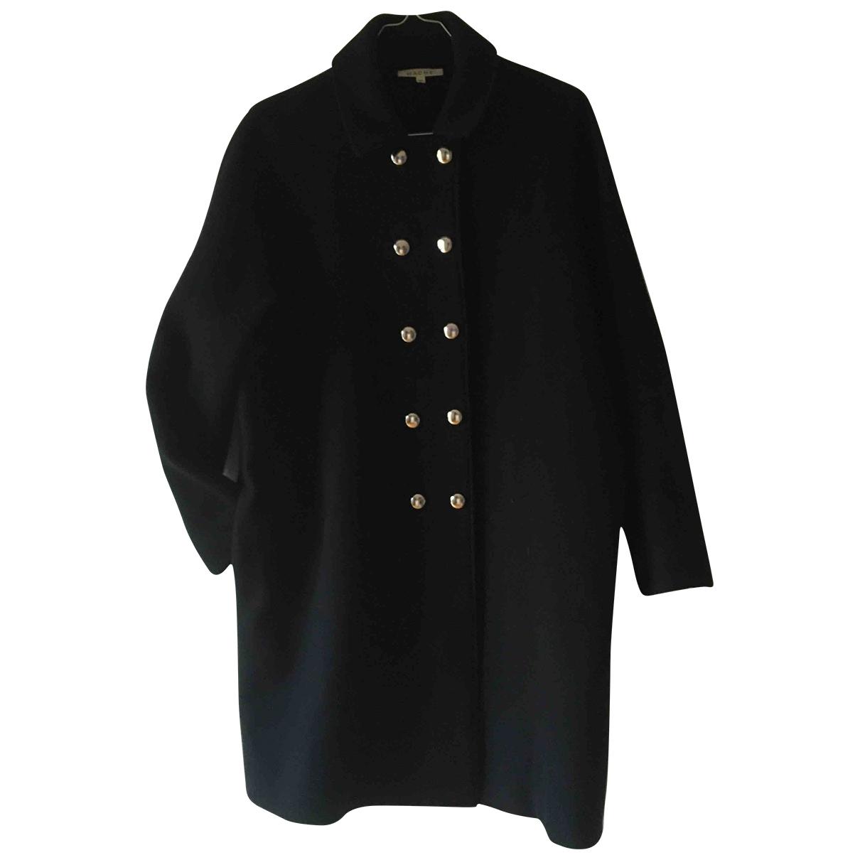 Hache \N Black Wool coat for Women 42 IT