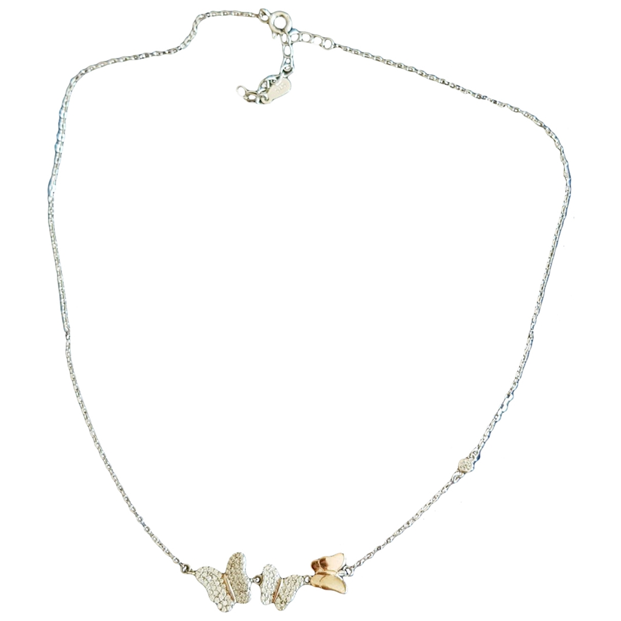 Non Signé / Unsigned \N Silver Silver necklace for Women \N