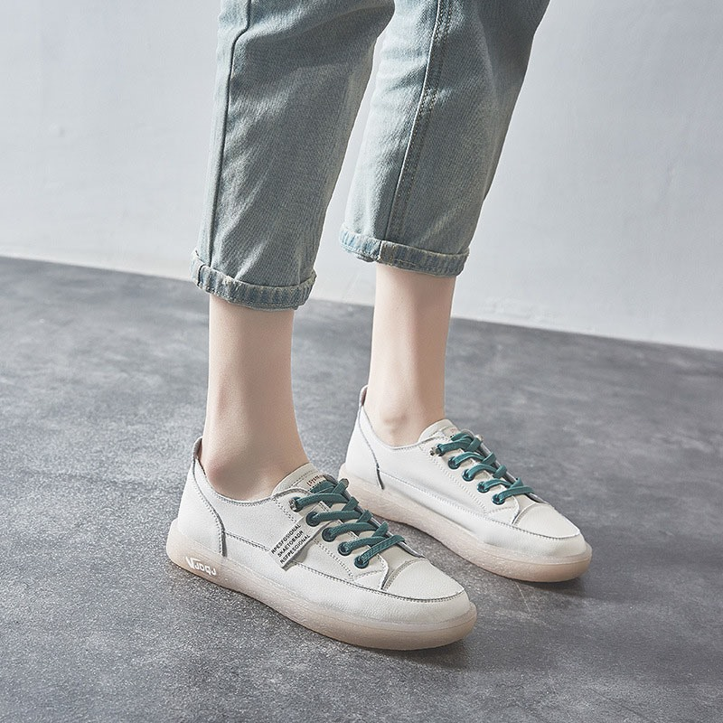 Ericdress Flat With Thread Round Toe Casual Thin Shoes