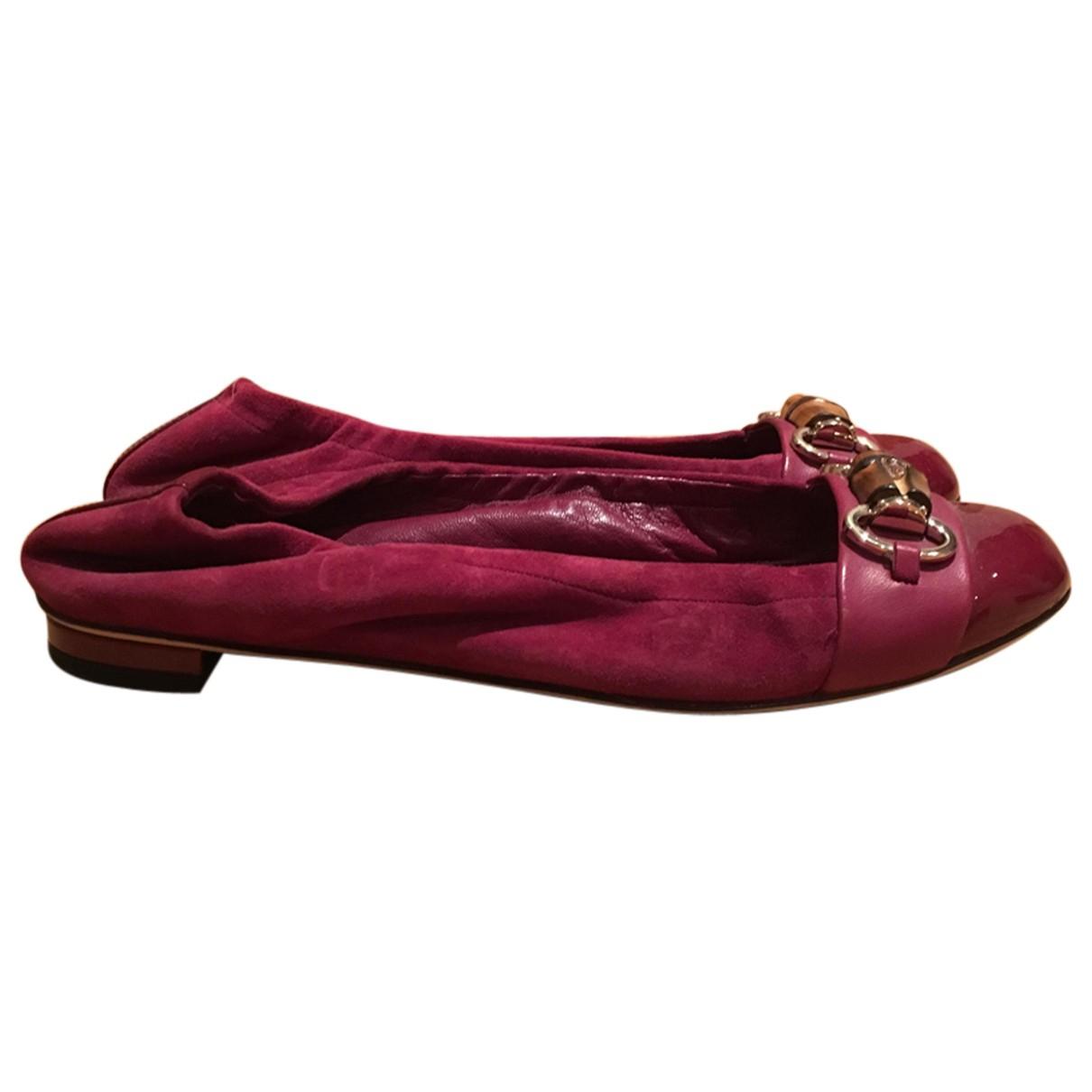 Gucci \N Suede Ballet flats for Women 38 EU