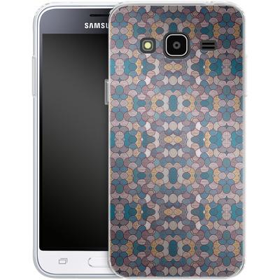 Samsung Galaxy J3 (2016) Silikon Handyhuelle - Lyon 01 von Daniel Martin Diaz
