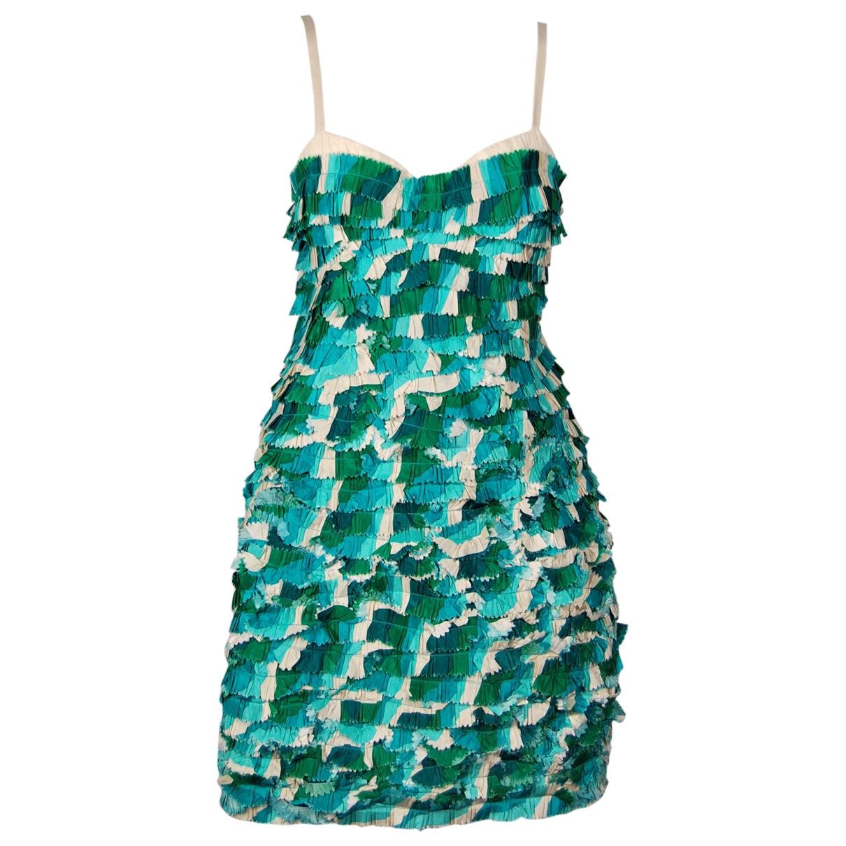 Marc Jacobs - Robe   pour femme en soie - turquoise