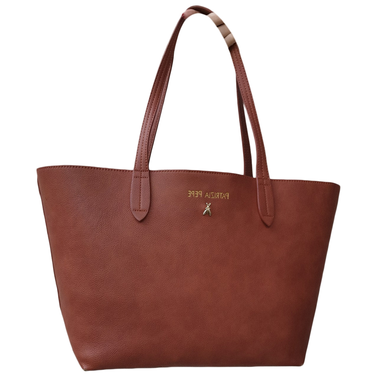 Patrizia Pepe \N Camel handbag for Women \N