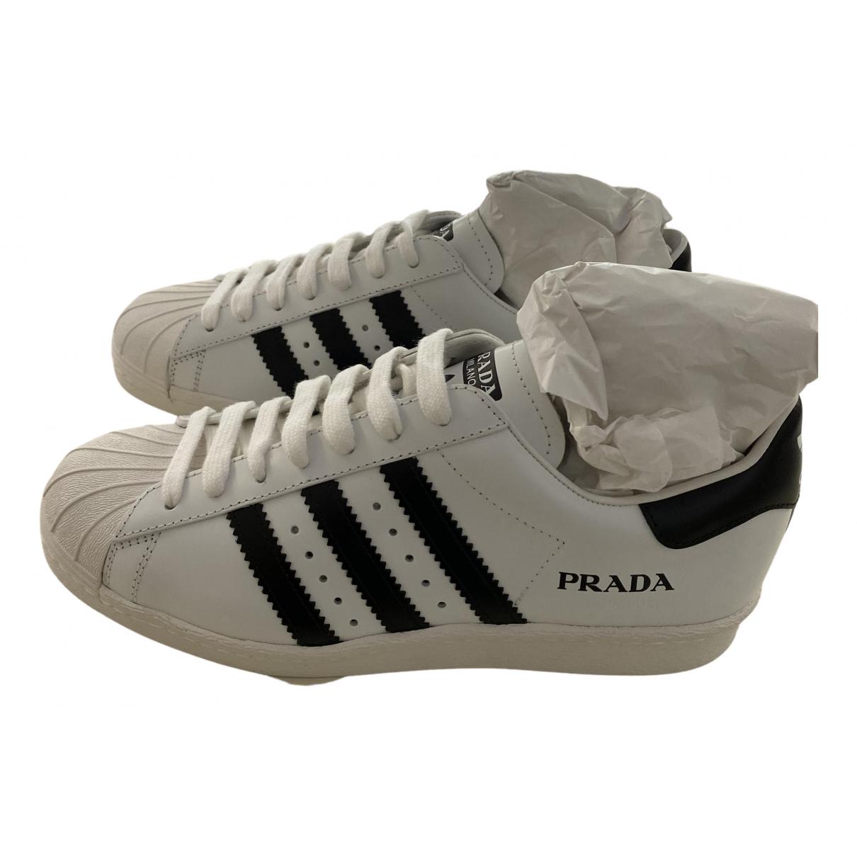 Deportivas de Cuero Prada X Adidas