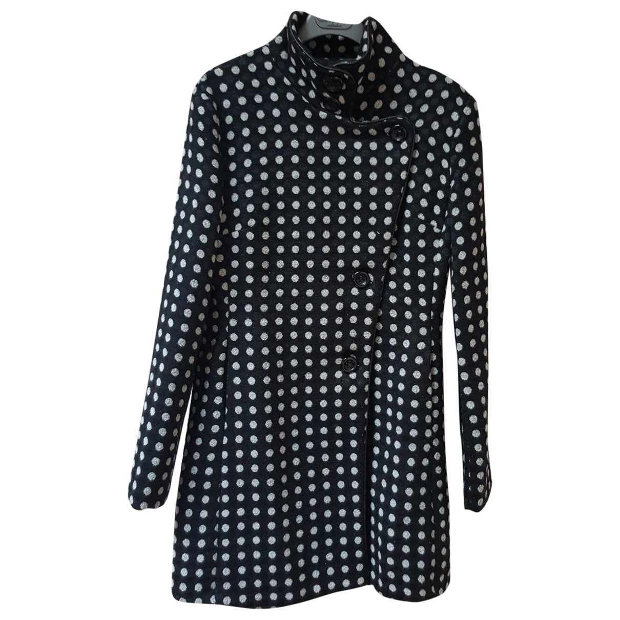 Non Signé / Unsigned \N Black Cotton coat for Women L International