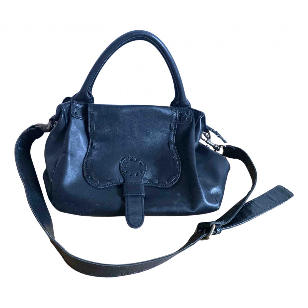 Liebeskind \N Handtasche in  Schwarz Leder