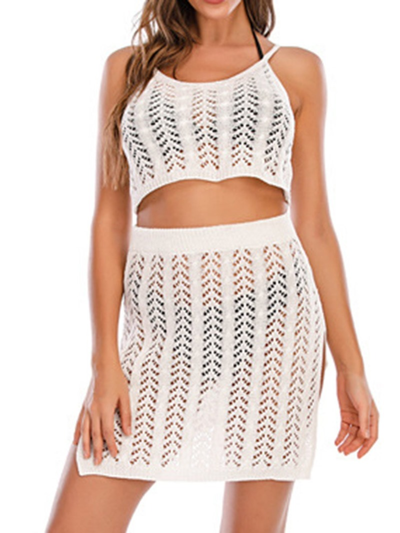 Ericdress Fashion Hollow Tankini Set Swimwear