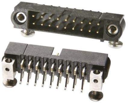 HARWIN , Datamate J-Tek, 26 Way, 2 Row, Right Angle PCB Header