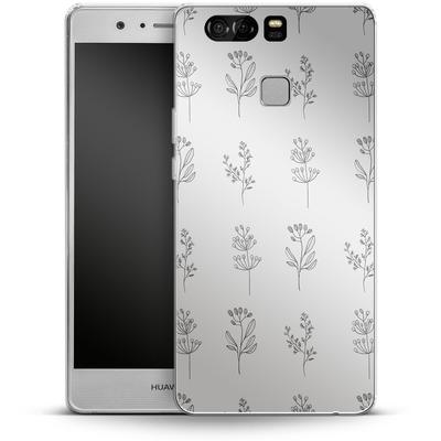 Huawei P9 Silikon Handyhuelle - Botanic Studies von Lucy Bohr
