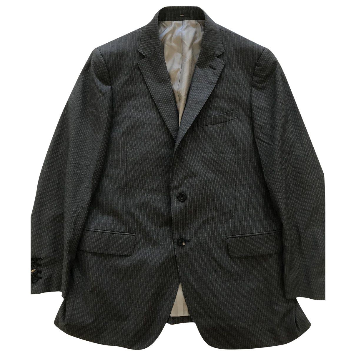 Fendi - Costumes   pour homme en laine - gris