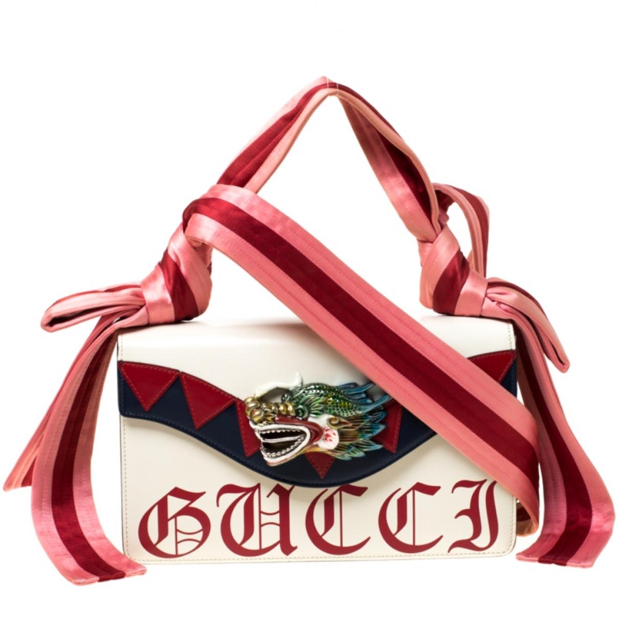 Gucci Naga White Leather handbag for Women \N