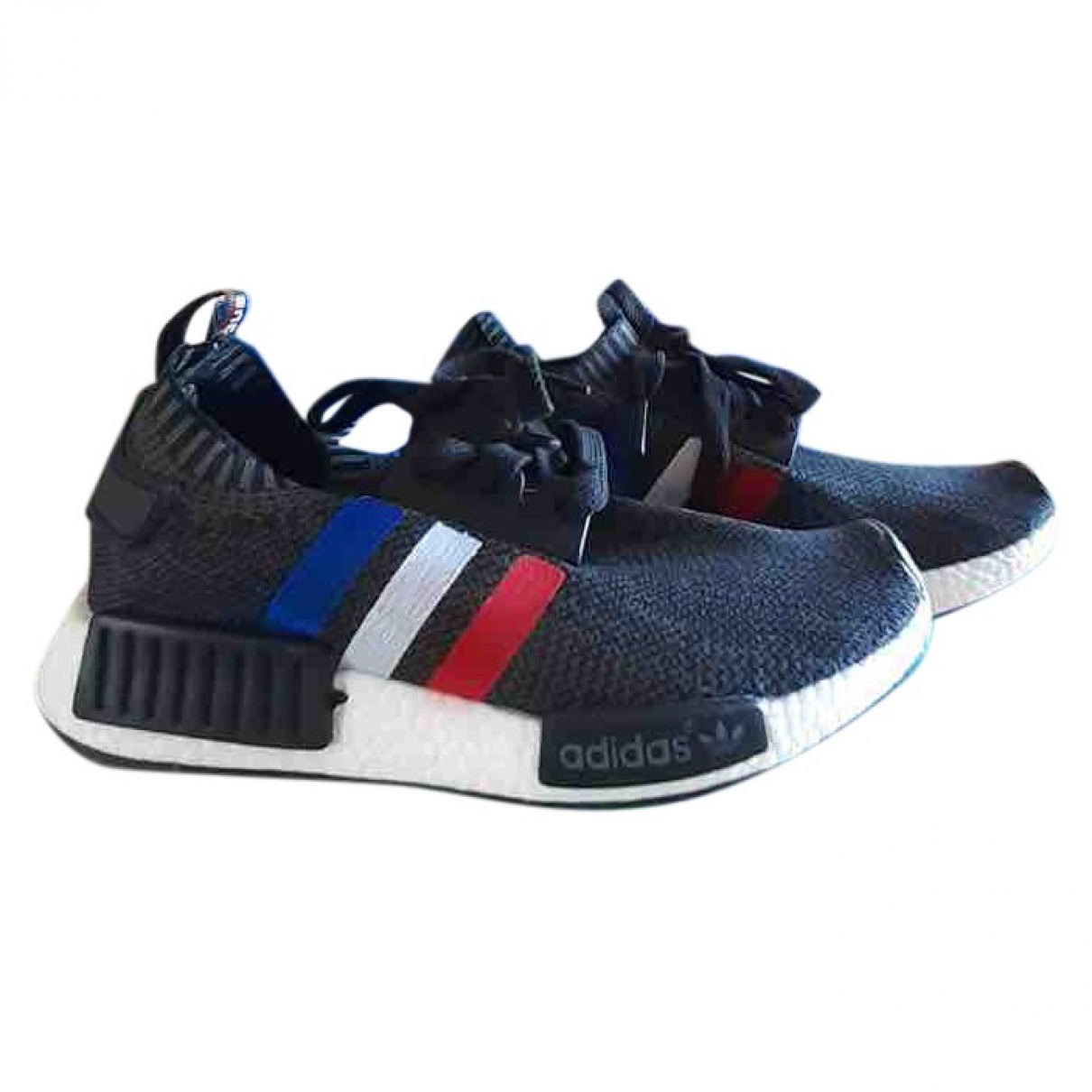 Adidas Nmd Sneakers in  Grau Polyester