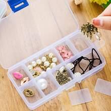 Transparent Jewelry Storage Box