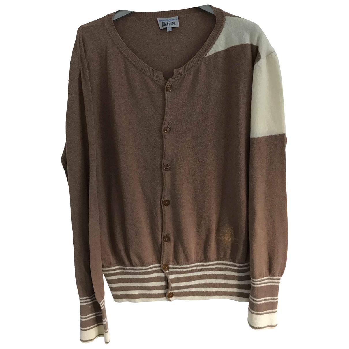 Vivienne Westwood \N Pullover.Westen.Sweatshirts  in  Braun Baumwolle