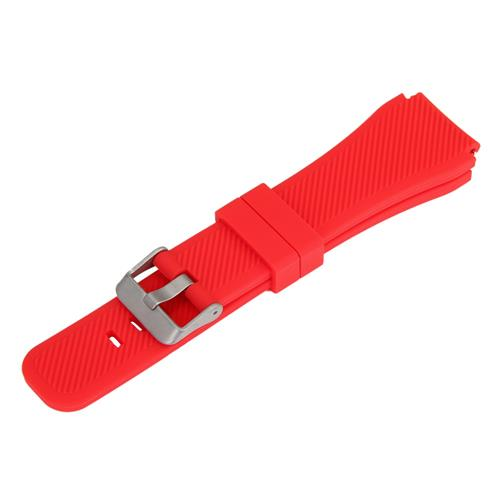 Universal 22mm Replacement Silicon Watch Bracelet Strap Band For Xiaomi Huami Amazfit - Red