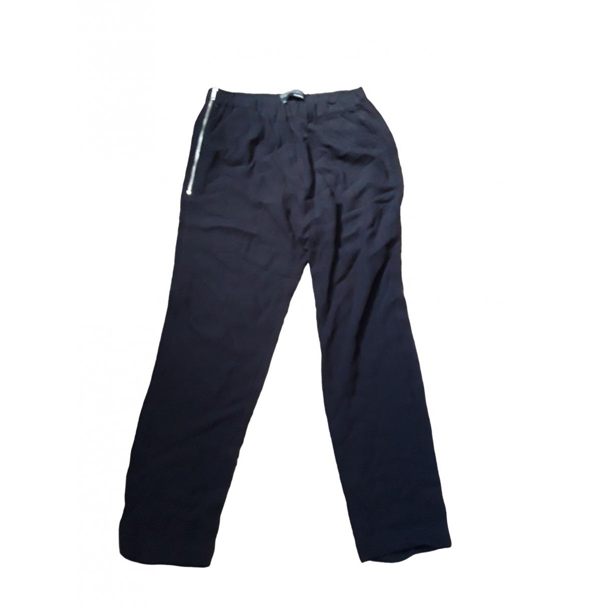Pantalon en Viscosa Negro The Kooples
