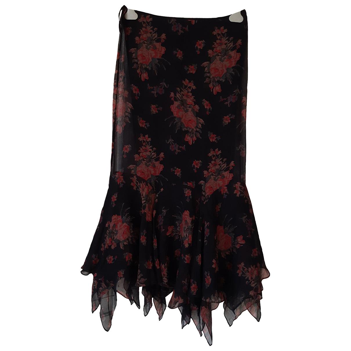 Polo Ralph Lauren N Black Silk skirt for Women 4 US