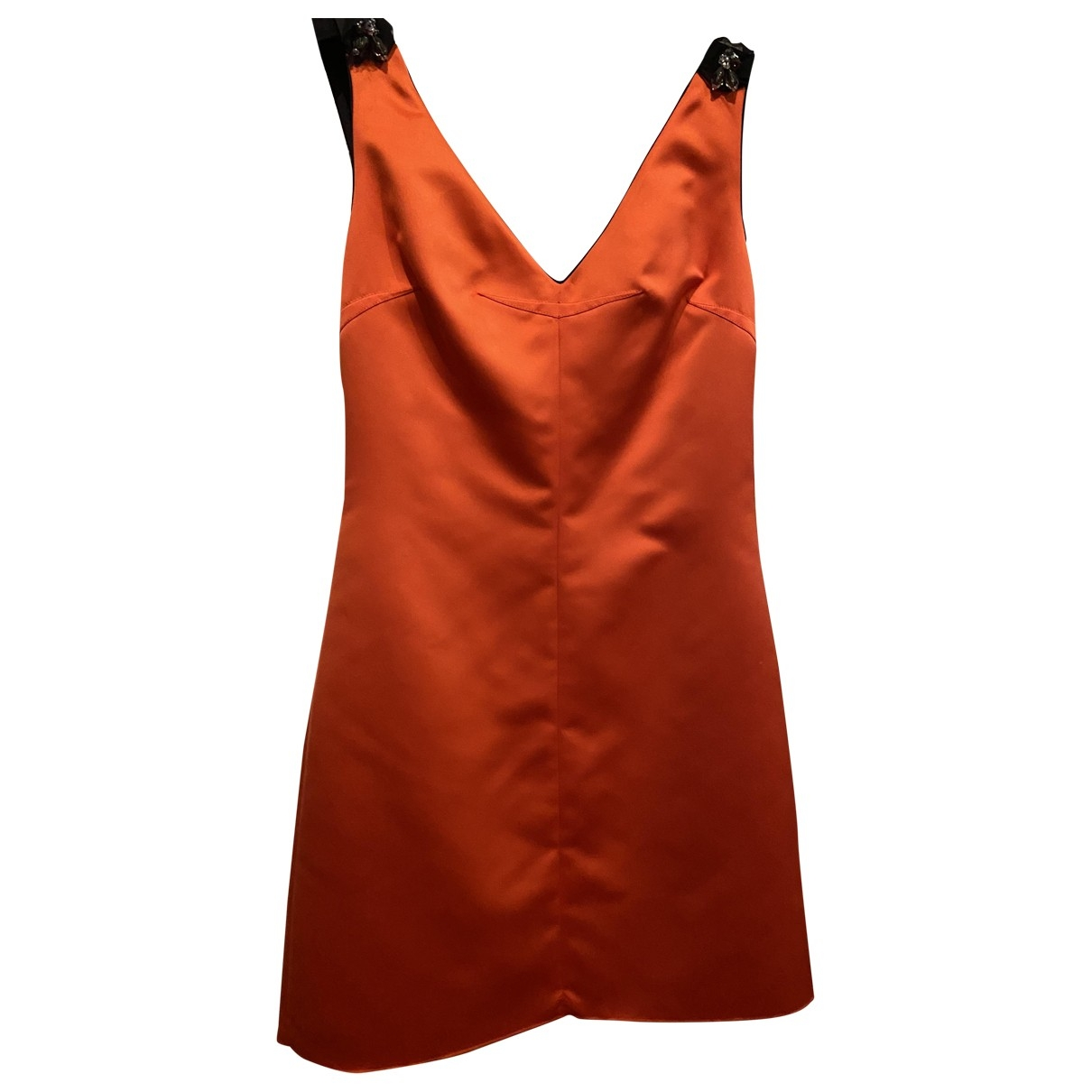 D&g \N Kleid in  Orange Polyester
