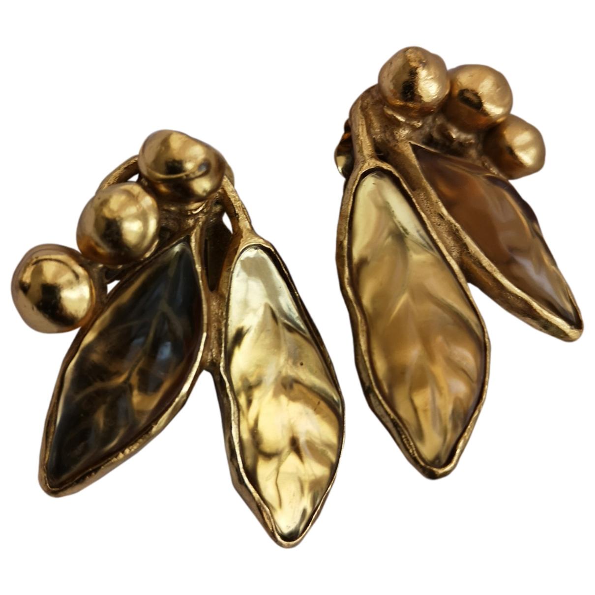 Kenzo \N Gold Metal Earrings for Women \N