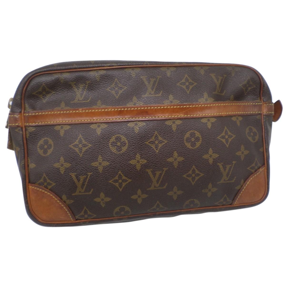 Bandolera de Lona Louis Vuitton
